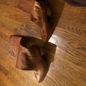 Lucky Brand Leather Over the Knee Azoola Boots 9.5